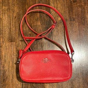 Coach cross body mini bag